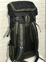 Рюкзак походный VA T-07-8 75л, хаки, фото 6