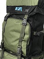 Рюкзак походный VA T-07-8 75л, хаки, фото 7
