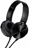 Наушники с микрофоном MDR-XB450 Black