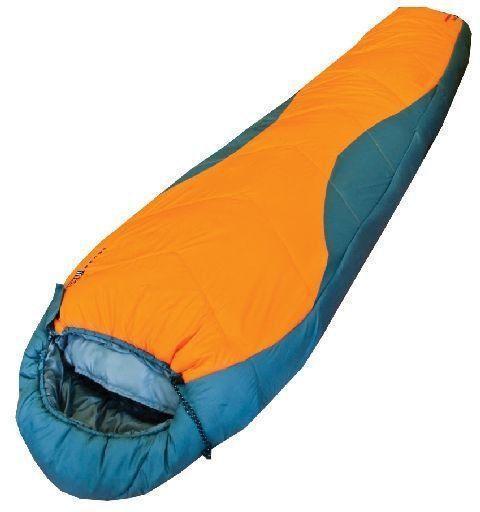 Спальный мешок трехсезонный Tramp Fargo оранжевый/серый TRS-005.02-R