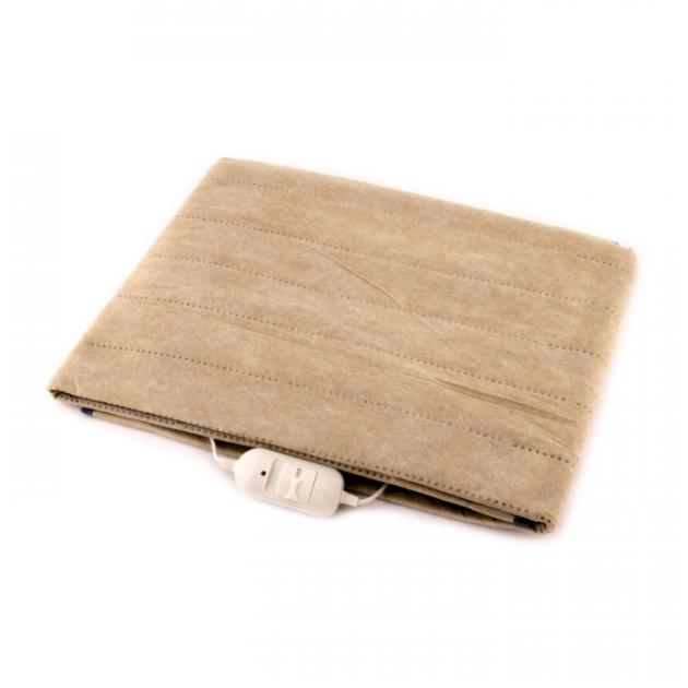 Электрическая простынь полуторная Yasam beige 160x120 см, бежевая