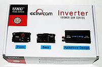 Преобразователь напряжения UKC авто инвертор 12V-220V 1200W, фото 5