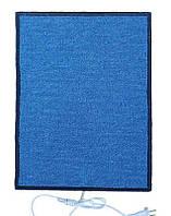 Электроковрик ТРИО 01502 в ковролине, 50х34 см, синий