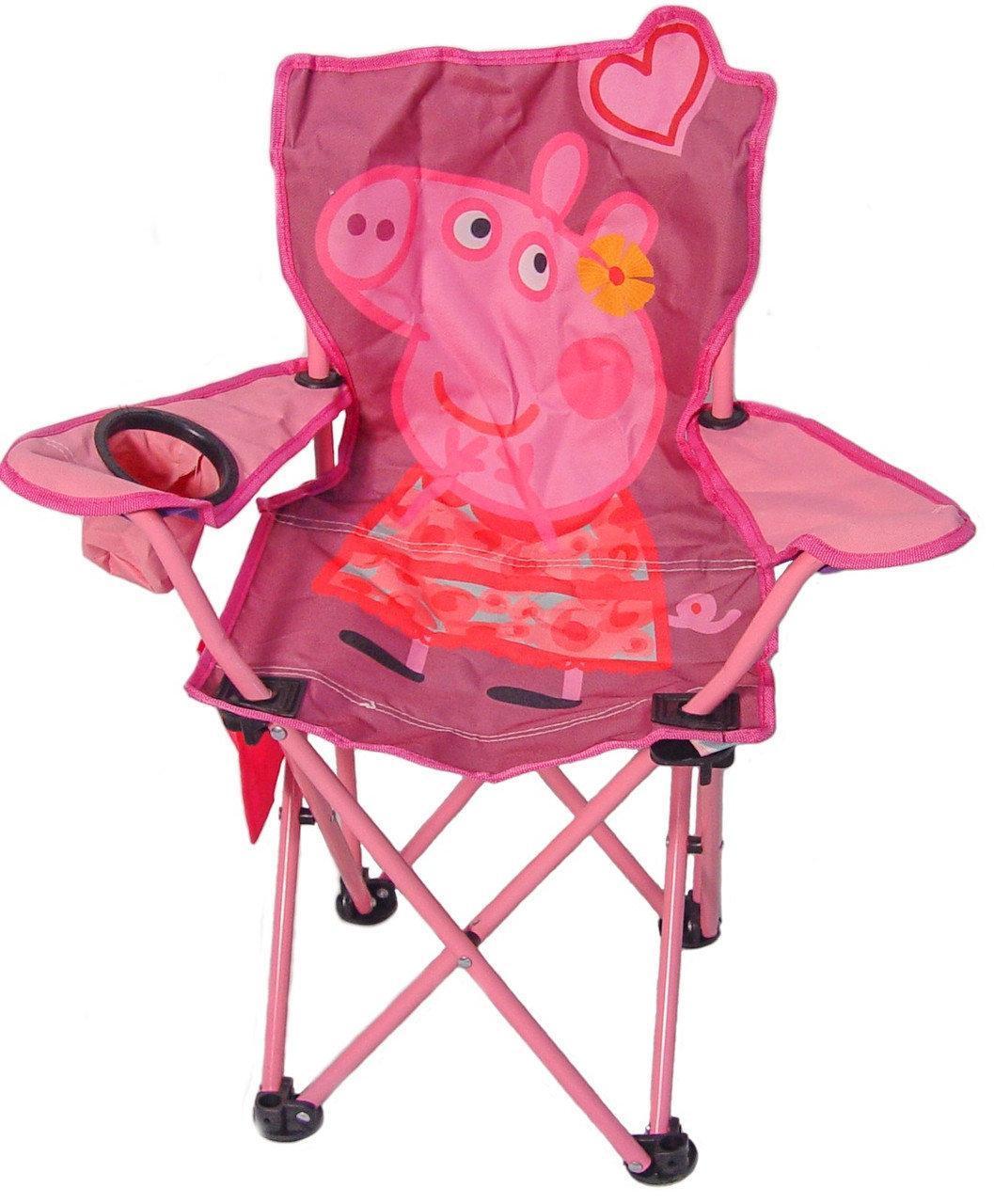 Кресло раскладное детское XS MH-3085 38х38х60 см, свинка Пеппа