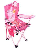 Кресло раскладное детское XS MH-3085 38х38х60 см, свинка Пеппа, фото 2