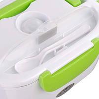 Ланч-бокс с подогревом MHZ Lunch heater box 12v, зеленый, фото 4