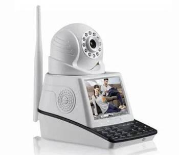 Камера видеонаблюдения с экраном MHZ Net Camera 1758, белый