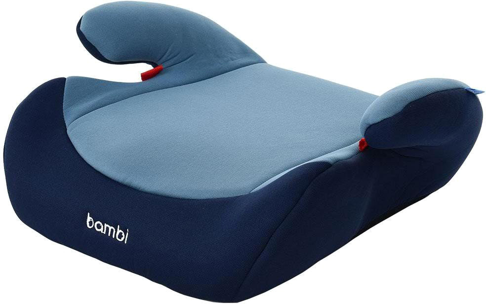 Бустер автокресло Bambi М2784 группа 2-3 15-36 кг, синий