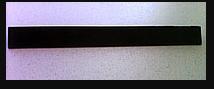 Алюмінієвий профіль прижимна планка фігурна АППП 23мм (кольорова)
