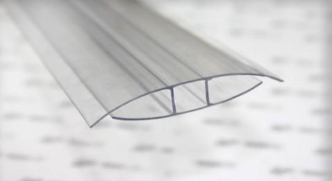 НР - профіль з'єднуючий 4 мм довжина 6 м