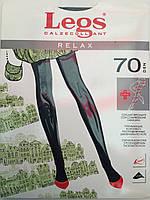 Женские колготки Legs relax 70den,Цвета: черный,беж,коричневый,бронза,sabbia.