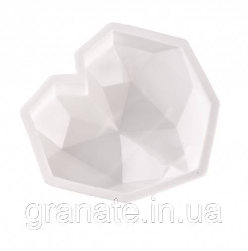 Форма для муссовых десертов  СЕРДЦЕ  Origami (Оригами)