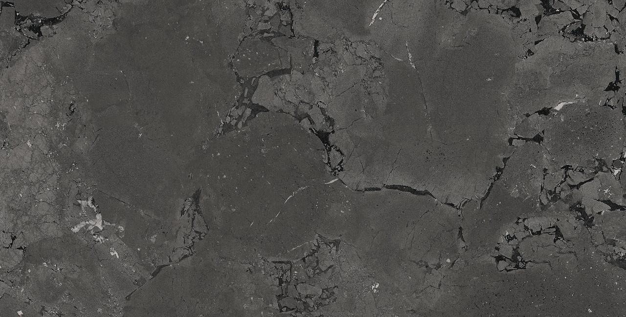 Плитка Kutahya Seramik Pompei Anthracite лапатированная