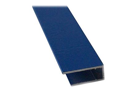Алюмінієвий торцевий профіль АПТ - 4 мм ТМ SOLIDPROF бронзовий, анодований