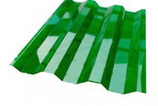 Профільний полікарбонат Suntuf (1,26х2м)  зелений 55% 0.8мм