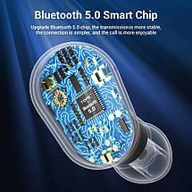 Беспроводные TWS наушники Topk L22 Bluetooth 5.0 с LED экраном (Черные), фото 3