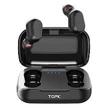Беспроводные TWS наушники Topk L21 Bluetooth 5.0 (Черные), фото 2