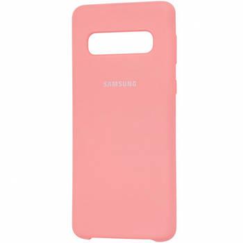 Чехол Silicone Cover (AA) для Samsung Galaxy S10+