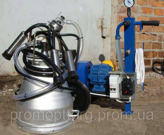 Доильный аппарат для коров Стелла АИД-2 сухой (Мехдойка, аппарат индивидуального доения)