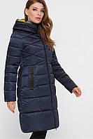 Женское пальто зимнее с капюшоном 18120