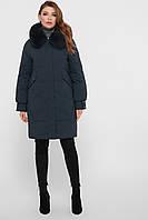 Зимнее пальто женское с мехом М-67