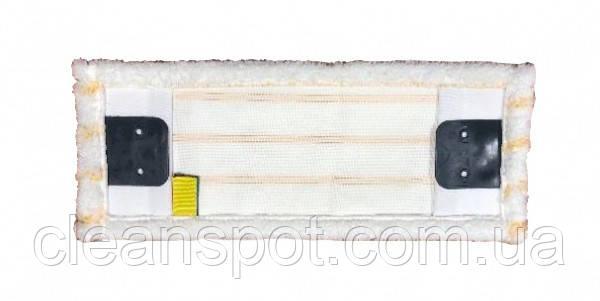 Моп (вкладыш) с  карманами из  микрофибры, карманы, отворот  40 см. MY042WP