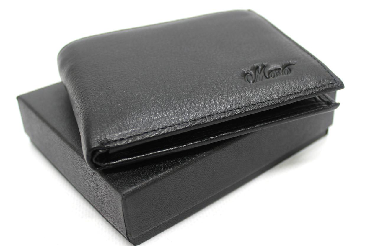 """Кожаный мужской кошелек с зажимом """"Moro"""" YR 168-24F"""