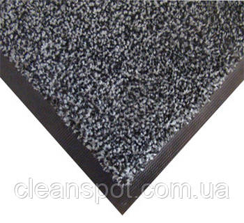 Нейлоновый грязезащитный коврик. 120*150 серый. 1022505