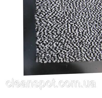 Полипропиленовый грязезащитный  коврик 90*150, серый. 1022528