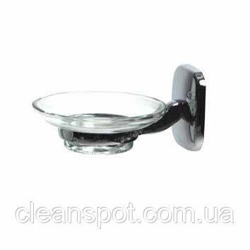 Держатель мыла (стеклянное блюдечко). 7259.