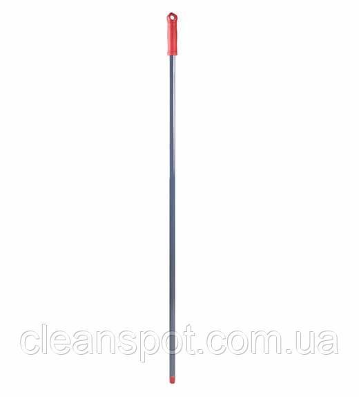 Рукоятка  металлическая, резьба, красная, 130 см*21 мм. MSG287R