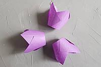 """Бумажная форма для кексов """"Тюльпан"""", фиолетовый"""