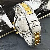 Rolex Daytona Quartz Date Silver-Gold-Gold, фото 4