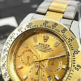 Rolex Daytona Quartz Date Silver-Gold-Gold, фото 2