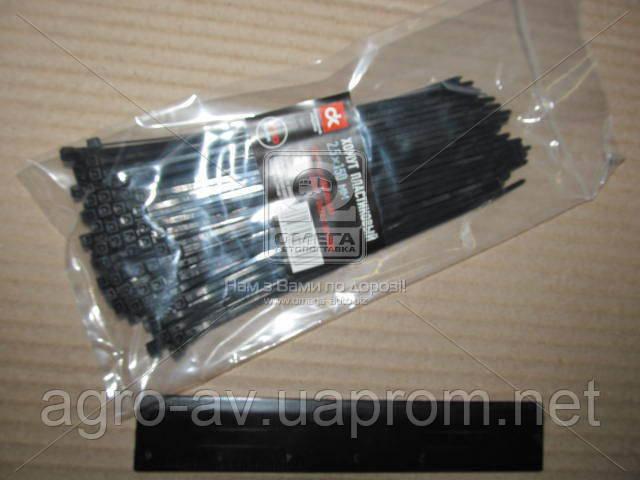 Хомут пластиковый (DK22-2.5х150BK) 2.5х150мм.черный 100шт./уп. <ДК>