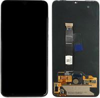 Дисплей модуль для Xiaomi Mi 9 в зборі з тачскріном, чорний, Original (переклеєне скло)