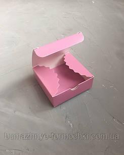 Пыльная роза мини-бокс, 83х83х30