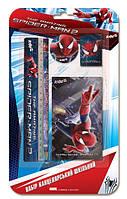 Блокнот и 4 канцелярских предмета Спайдермен Kite Spider-Man SM14-147К