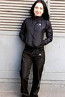 Костюм спортивный черный на змейке