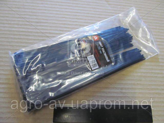 Хомут пластиковый (DK22-2.5х200BK) 2.5х200мм. черный 100шт./уп. <ДК>
