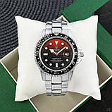 Rolex Submariner 6478 Silver-Red-Black, фото 5