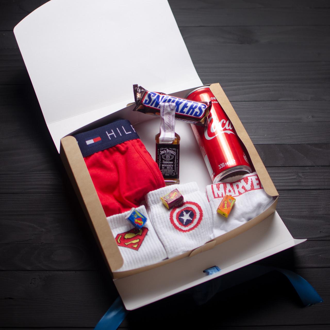 Подарочный набор мужской, носки 3шт, Jack Daniels, Snikers, Coca Cola