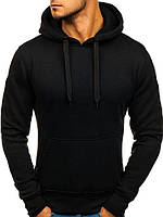 Худи мужское с капюшоном черное / кофта весенняя осенняя / ТОП качество