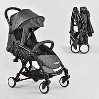 Легкая прогулочная коляска для путешествий JOY W 3310, цвет темно-серый