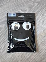 Кабель HOCO USB Lightning - 1 метр, 2.0 А - сертифікований для пристроїв Apple