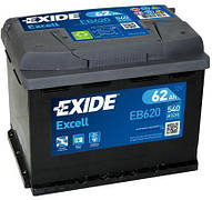 EXIDE 6СТ-62 АзЕ EXCELL  EB620 Автомобильный аккумулятор