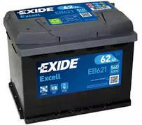 EXIDE 6СТ-62 Аз EXCELL EB621 Автомобильный аккумулятор
