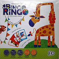 Детское развивающее Лото Bingo Ringo (рус), Danko Toys (GBR-01-01)
