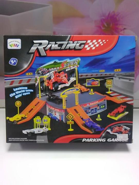 Паркинг гараж с машинками гонки