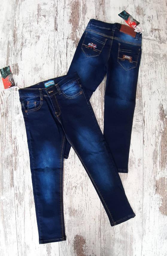 Детские джинсы для мальчика р. 3-7 лет опт